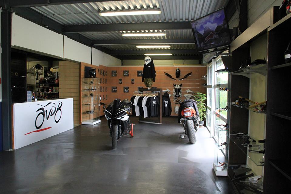 photo magasin avdb moto - accessoire à prix motard